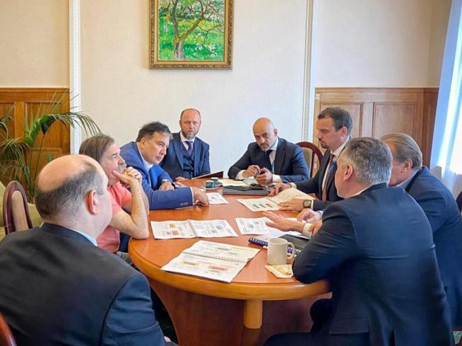 Укроборонпром представил Саакашвили план реформы оборонных предприятий