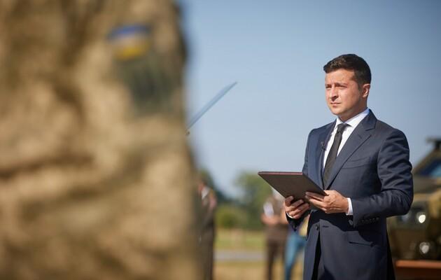 Зеленский: Нам нужен мир только на условиях Украины