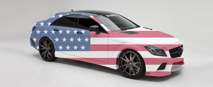 Автомобили из США в Украине