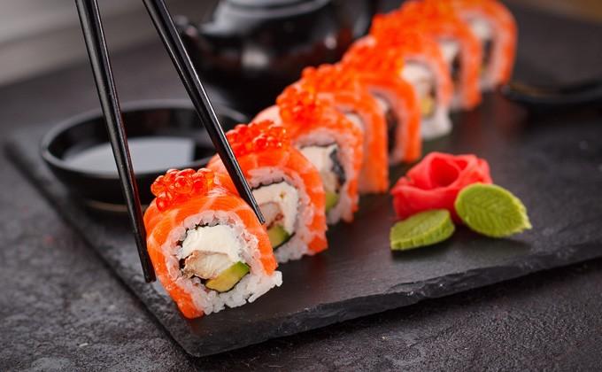 Оперативная доставка суши в Днепре