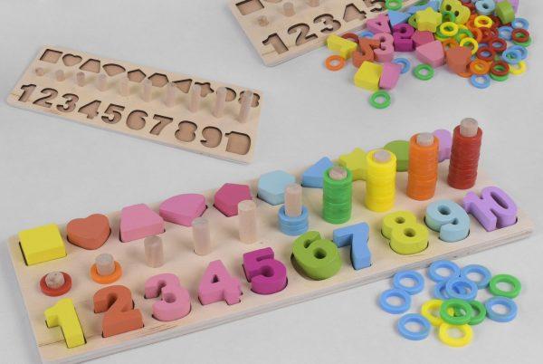 Развивающие деревянные игрушки для детей