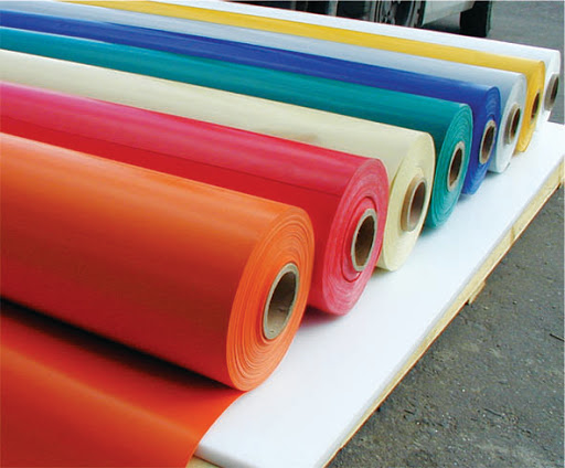 Большой ассортимент баннерной ПВХ ткани