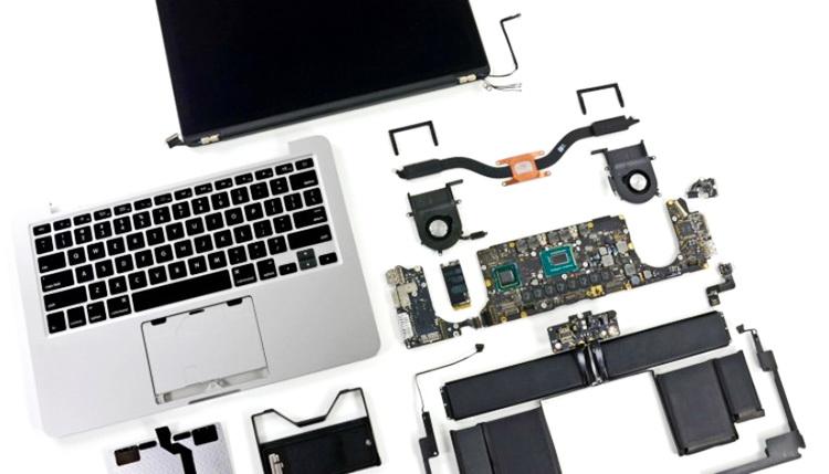 Качественный ремонт ноутбуков от Apple